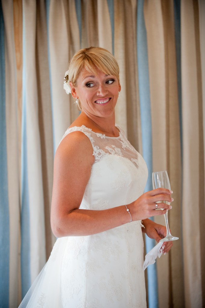 Claire Down - Propietor, Owner & the 1st ever Bride at Upton Barn.