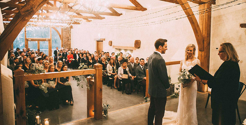 Reading of vows