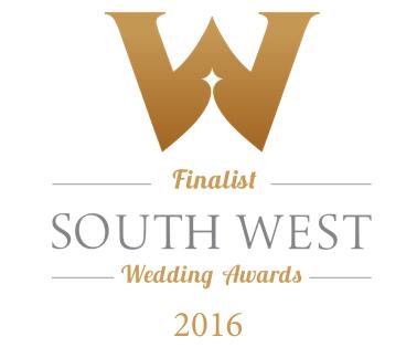 South West Wedding Awards Finalist 2016