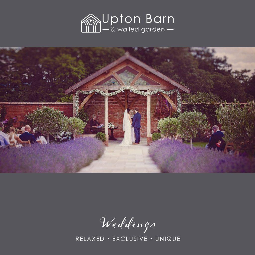 Upton Barn & Walled Garden Brochure