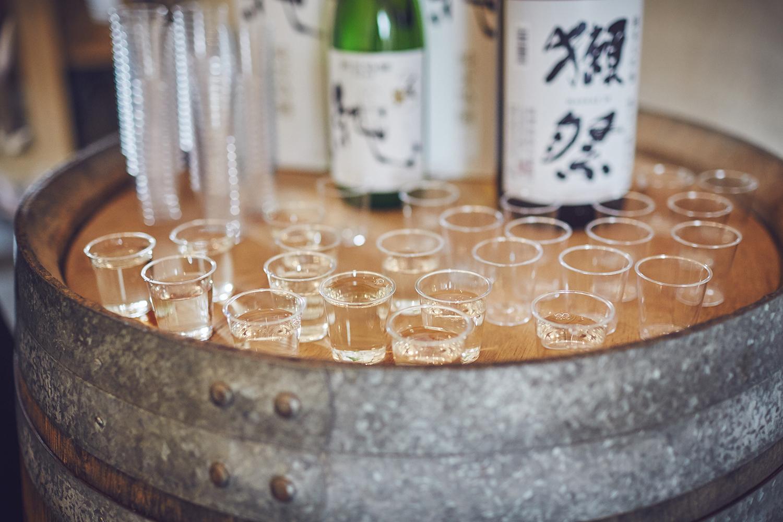 Celebratory sake