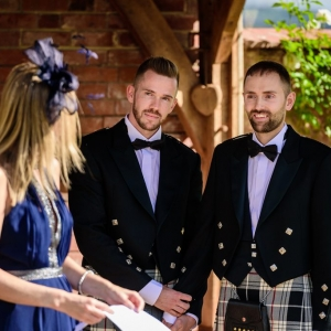 Guest gives wedding reading