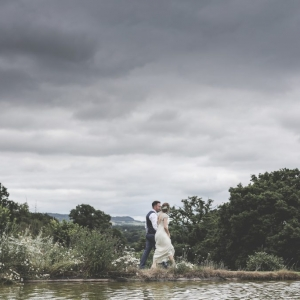 Newlyweds strong around the lake
