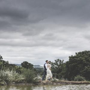 Newlyweds strong around the lake