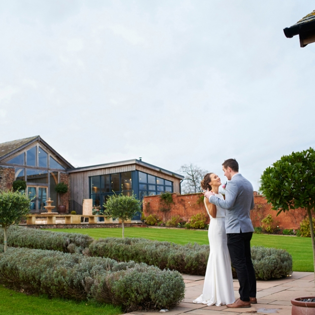 Jess & Dan in the Walled Garden