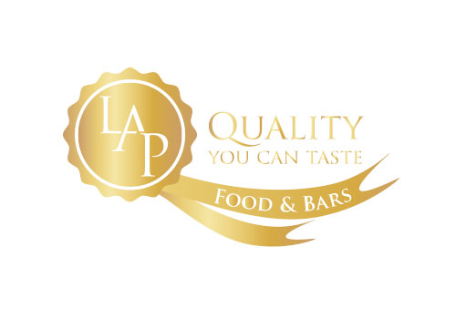 LAP Food & Bars Logo
