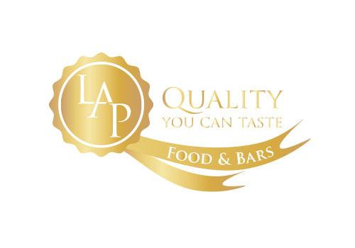 LAP Food & Bars Logo