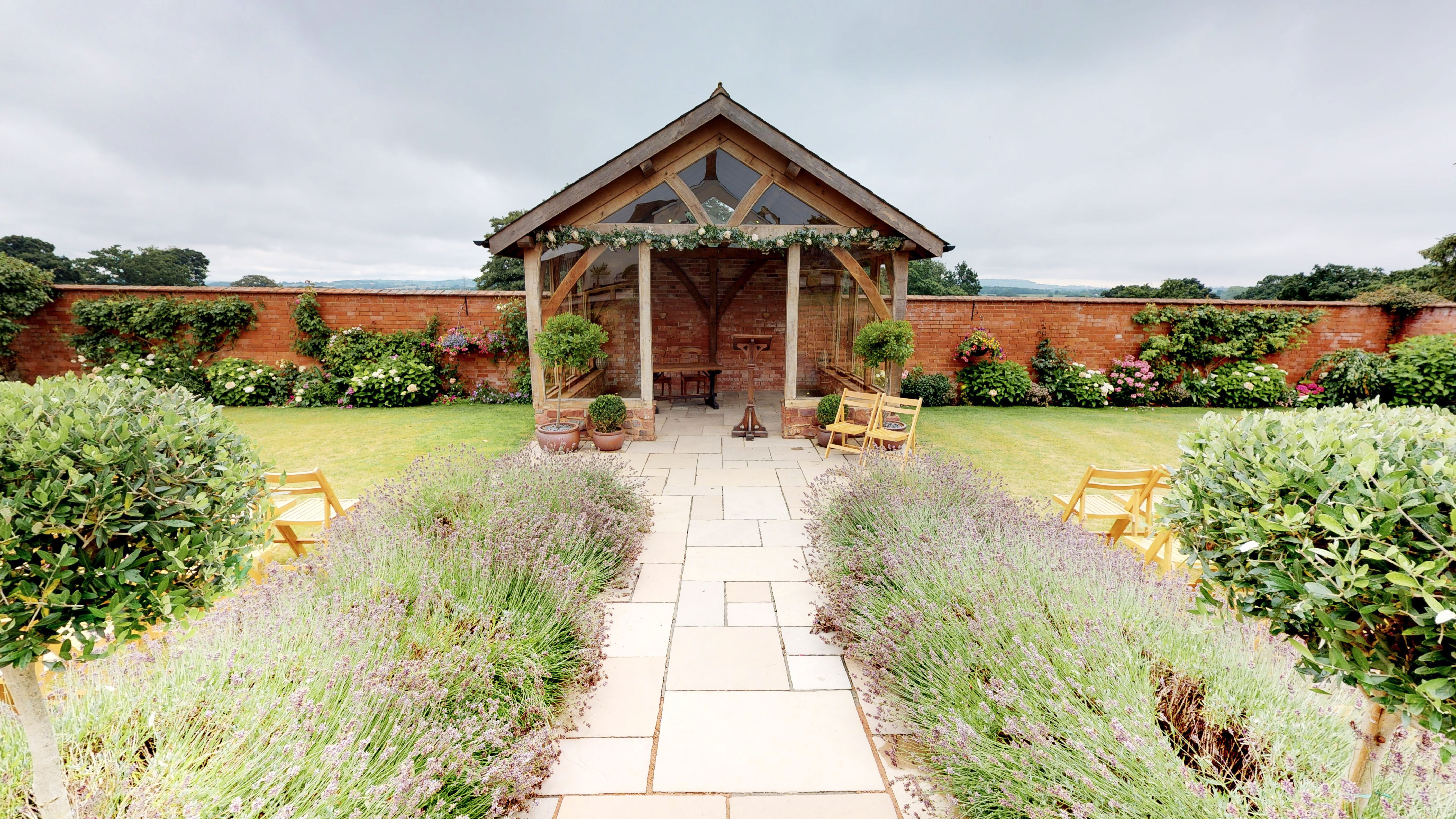 The Walled Garden Arbour