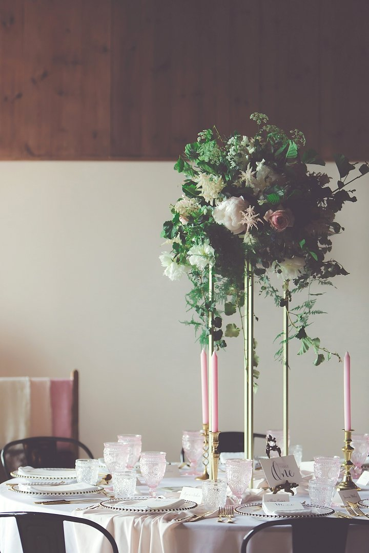 Wedding Breakfast Table