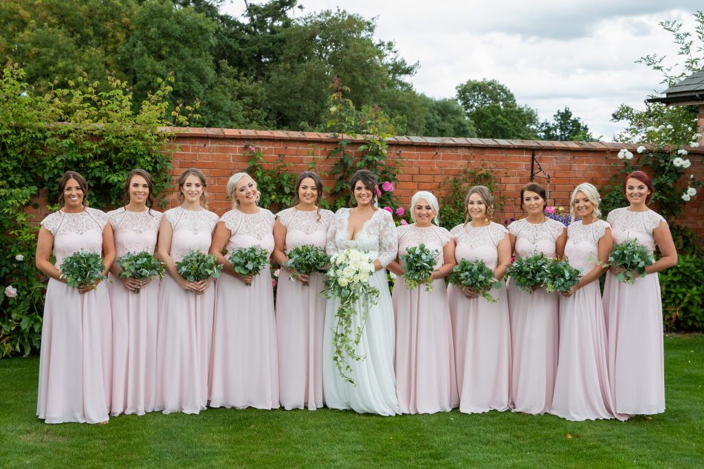 Bouquet, bridemaids, bride, flowers, floristry