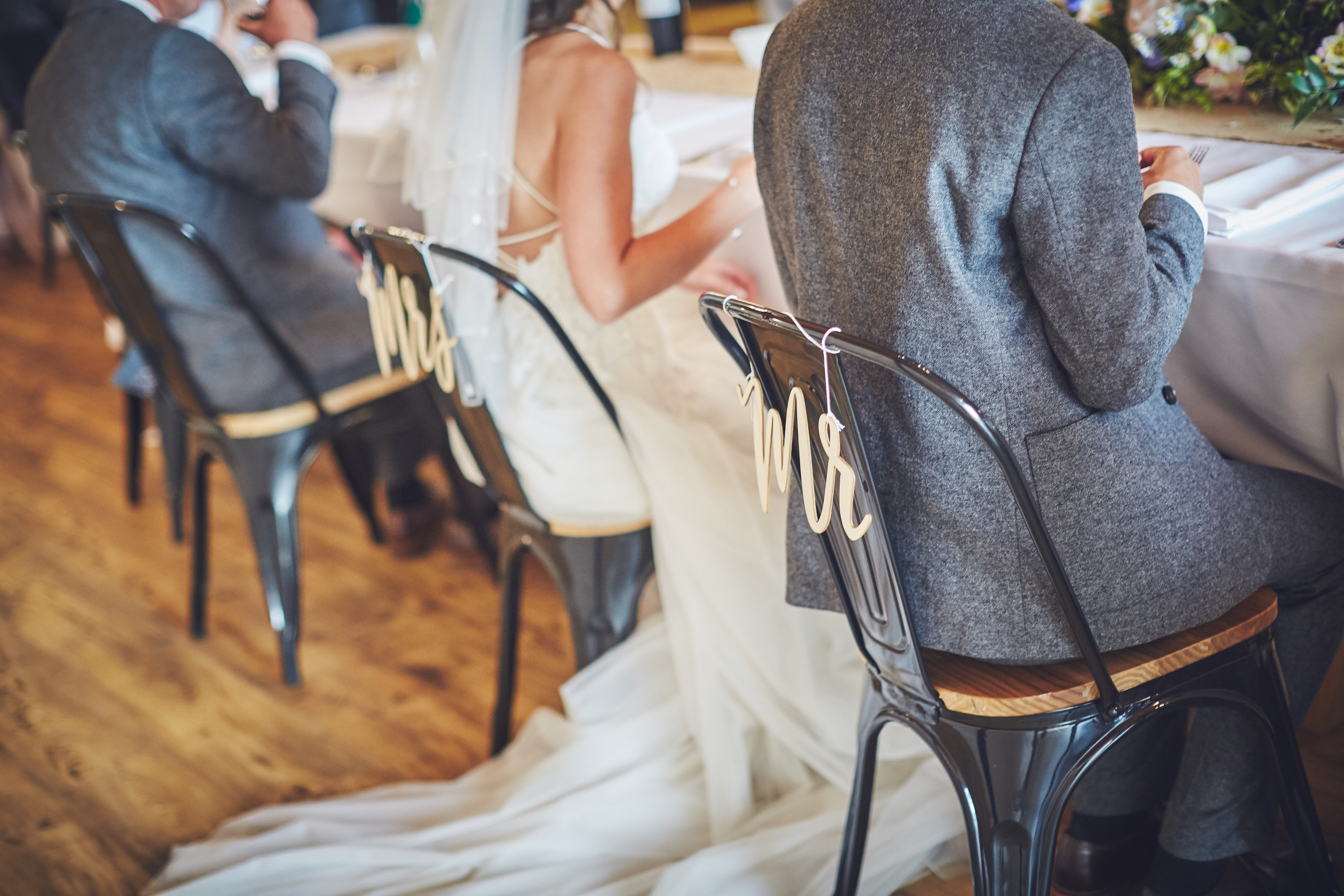 Mrs & Mrs named seats