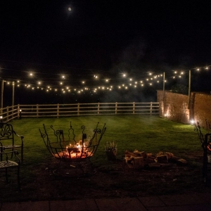 The Fire Pits at Upton Barn and Walled Garden