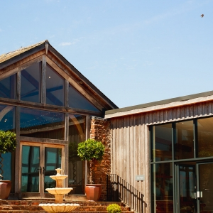 The Cider Barn and The Press Bar at Upton Barn & Walled Garden