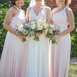 Brides and her maids in the Walled Garden
