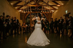 First dance in Cider Barn