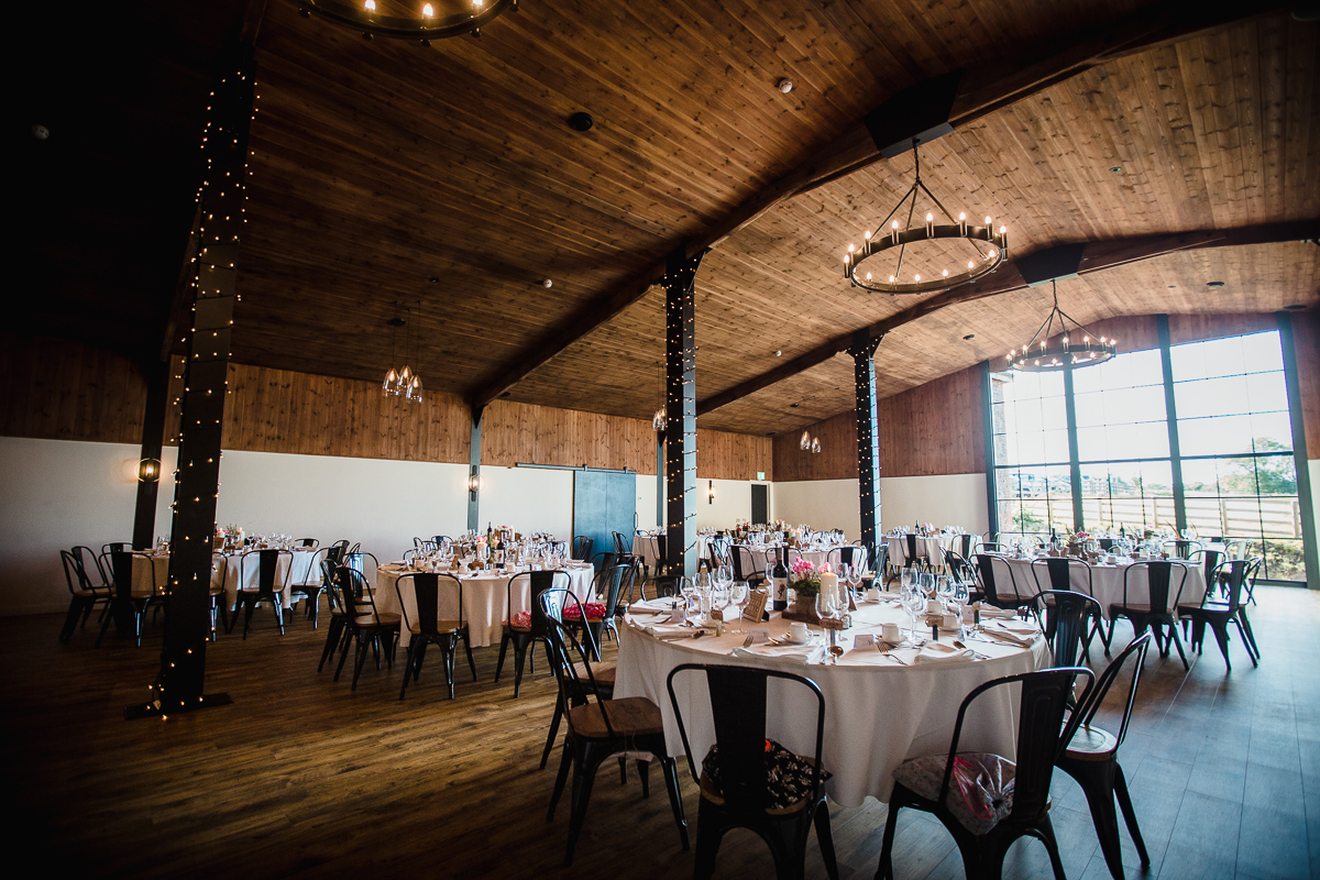 Wedding breakfast in the Stable Barn