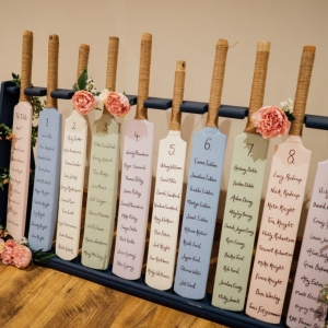 Custom cricket bat table plan