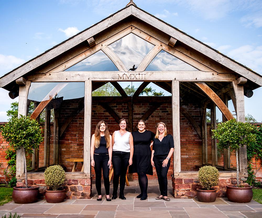 About us | Upton Barn & Walled Garden | Wedding Venue in Devon
