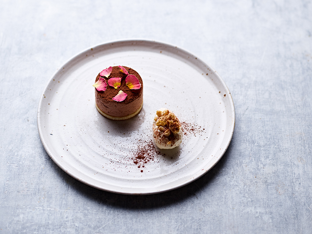 Mulberry Catering Co | Chocolate Bavaroise | Neil White Photography