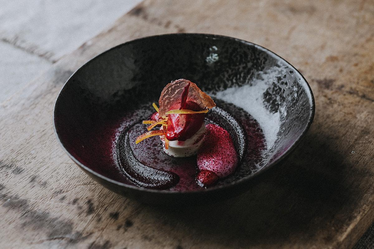 Pickle Shack | Beetroot and yoghurt dessert