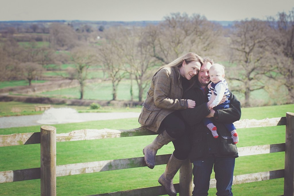 Claire & Richard Down – Owners at Upton Barn & Walled Garden