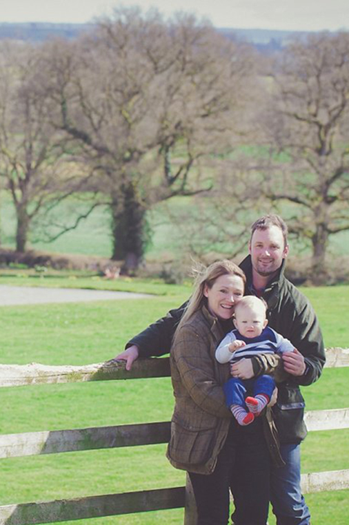 Claire, Richard + Wilf Down