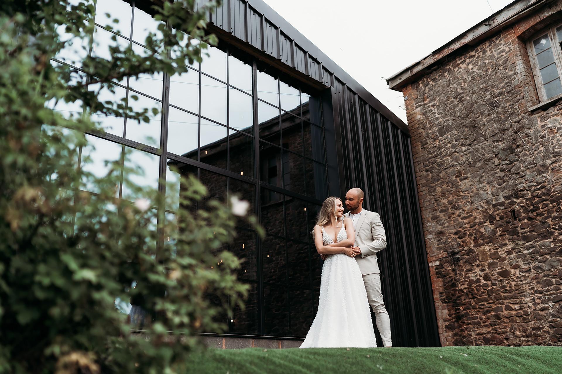 Outside Stable Barn   Upton Barn Wedding Venue   Kamila Nowak Photography
