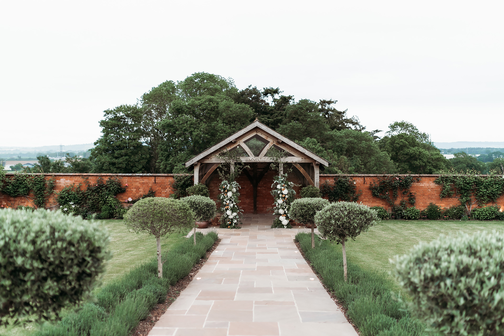 The Walled Garden at Upton Barn | Image by Kamila Nowak Photography